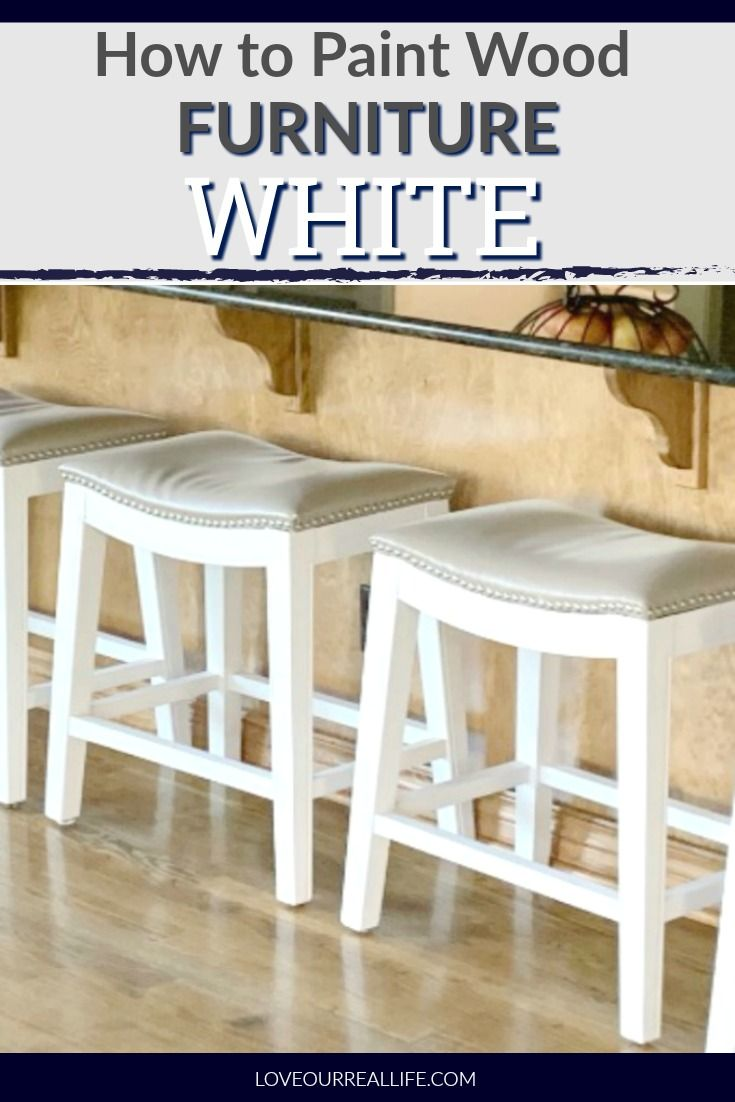 How To Hand Paint Kitchen Bar Stools Painting Wood Furniture Bar Stools Painted Bar Stools