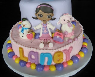 Custom Cakes by Julie: Doc McStuffins Cake II