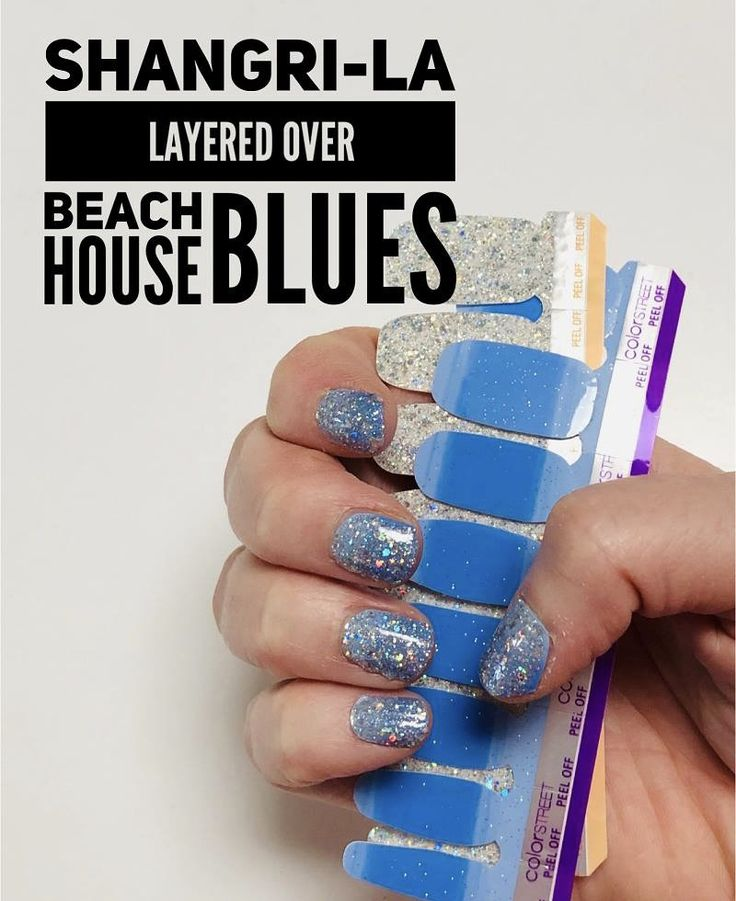 Layering Shangri-La Over (retired) Beach House Blues