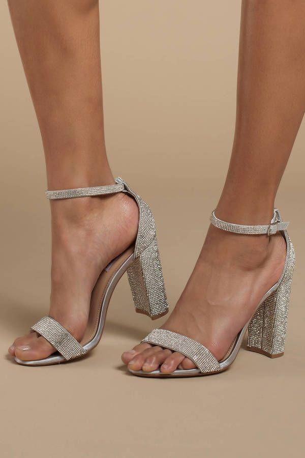 461742a32d6 Carrson Rhinestone Heels in 2019 | NIGHT OUT | Rhinestone heels ...