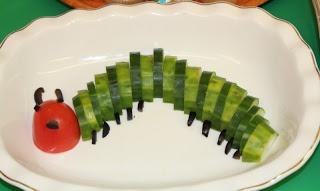 Very hungry caterpillar theme Food !!! ~ Putti's World-kids-activities