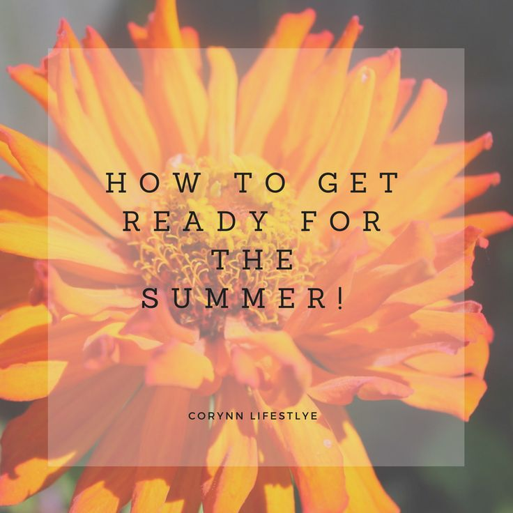 #summer is right around the corner. here is a list of things that I do to get ready for the summer break