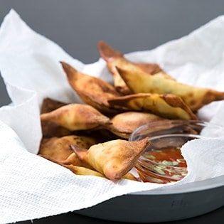 Air Fryer Fried Wontons (gluten free)