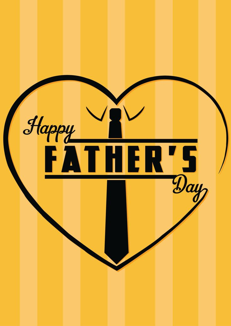 """Father's Day Poster """"Happy Fathers Day"""", Father's Day Print, Fathers..."""