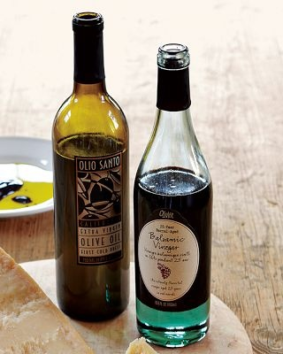 """My go-to """"holy shit good"""" #pantry items: Olivier 25-yr Barrel-Aged #Balsamic ($28) + Olio Santo Olive Oil ($28). Lick up every cent--both are worth the price."""