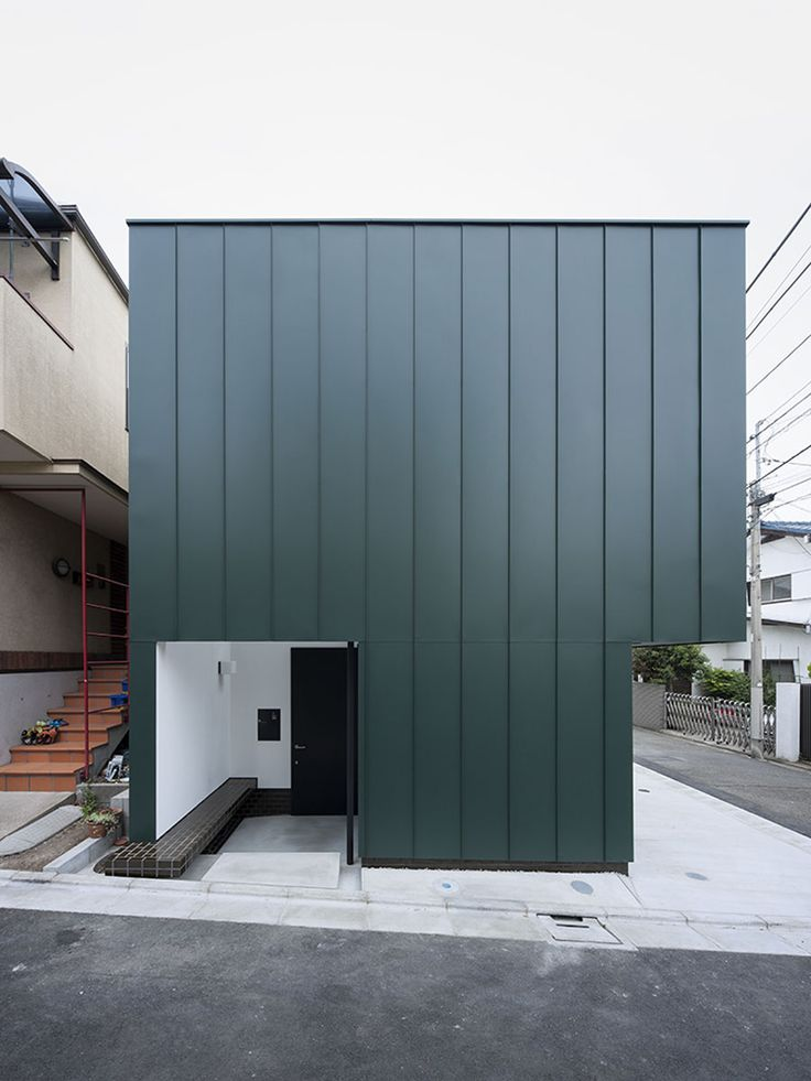 Compact Two-Story House Keeping The Noise Away in Tokyo, Japan  by  Nobuo Araki