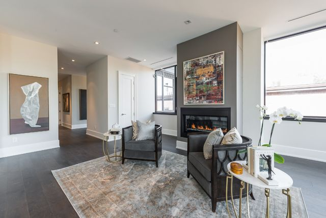Family Room 36 Hazelton Ave Unit 4A For Sale Yorkville Luxury Condos Toronto Victoria Boscariol Chestnut Park Real Estate