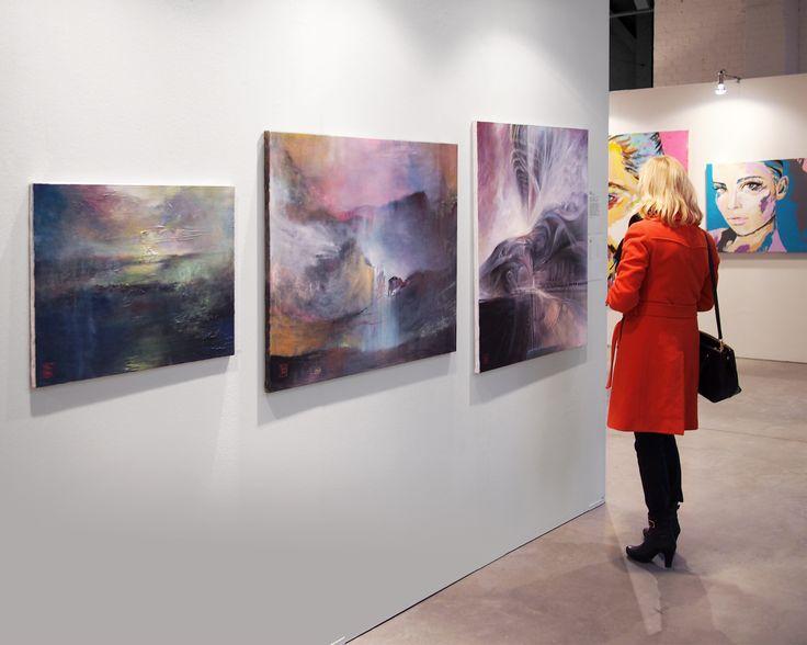 Exhibition, FoKo - Art to Go. Sickla, Dieselverkstaden, Stockholm 16-26 April 2015.