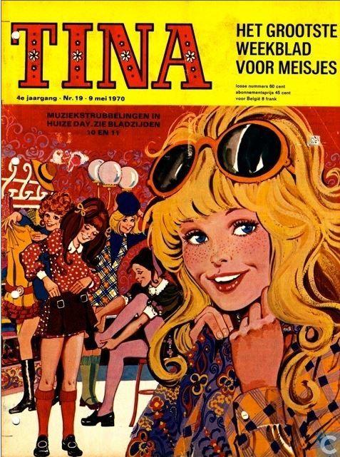 Ik kreeg van mijn ouders een abonnement op de Tina