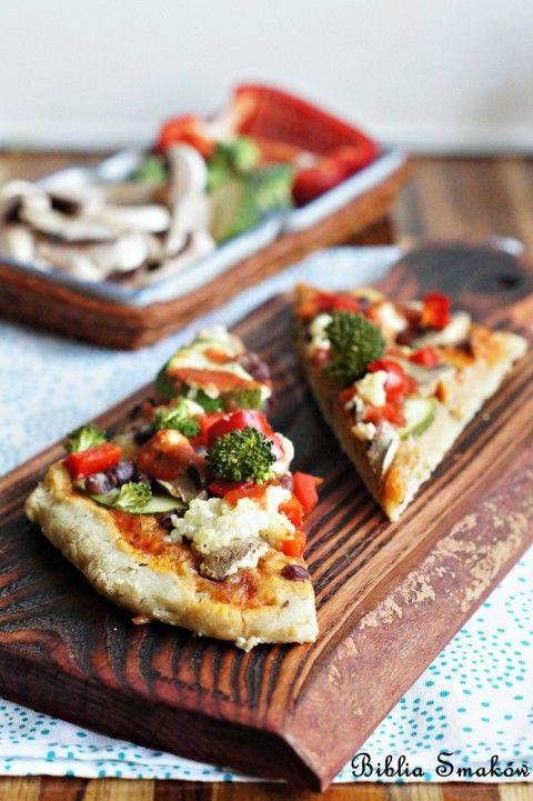 Pizza bezglutenowa zwarzywami