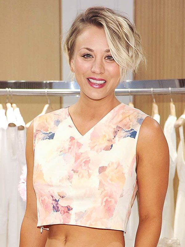 Kaley Cuoco Talks 'Big' Haircut: 'My Inspiration Was Michelle Williams'   People.com