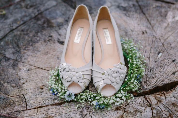 Vintage Bride ~ Rachel Simpson Shoes ~ ~ #vintagebride #vintagewedding #vintagebridemagazine #vintageweddingshoes