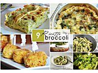 9 Ricette con i broccoli - ricette facili alla portata di tutti!