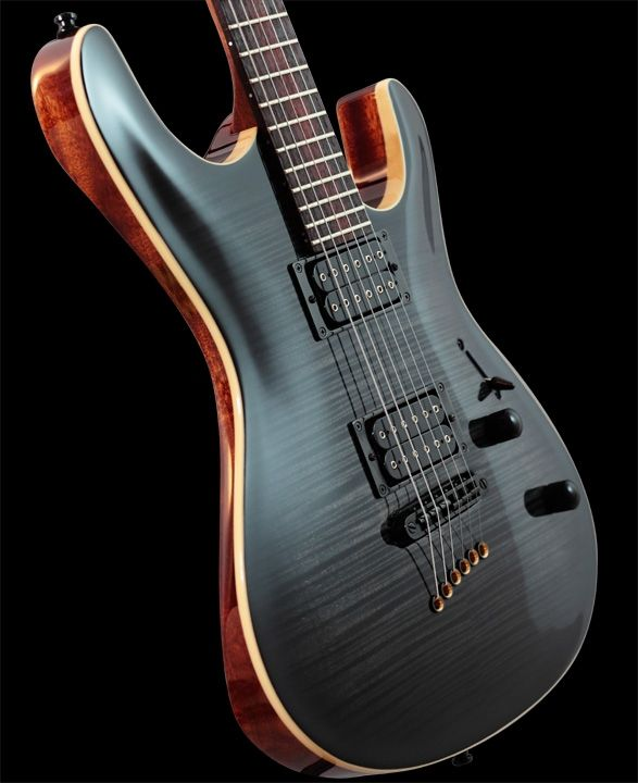 black flame top, natural binding
