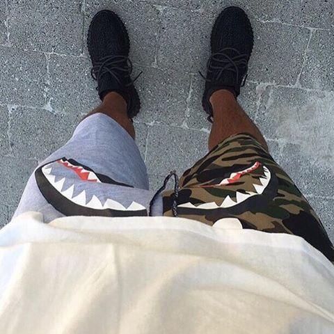 That #BathingApe shorts tho