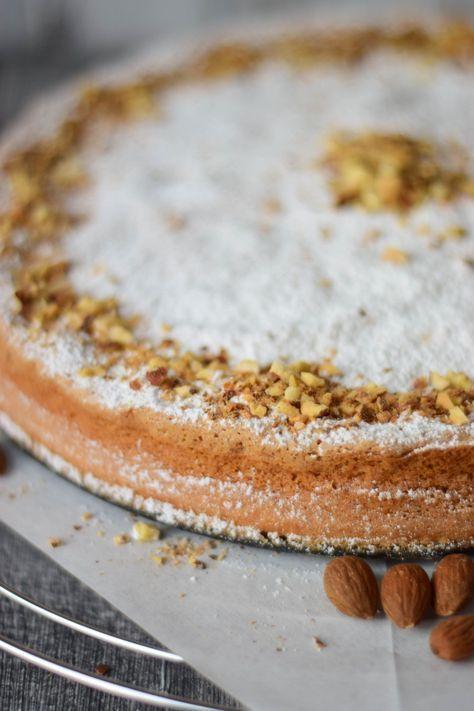 Fluffy Cake – mallorquinischer Mandelkuchen – saftig leicht – ganz ohne Mehl   – backen