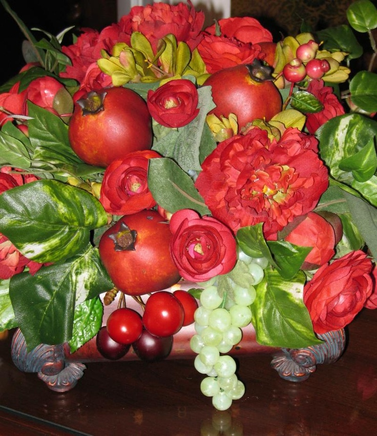 7 best fruit of the spirit centerpiece images on pinterest Floral arrangements with fruit