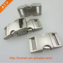 Rapide libération latérale boucle en métal pour colliers de chien