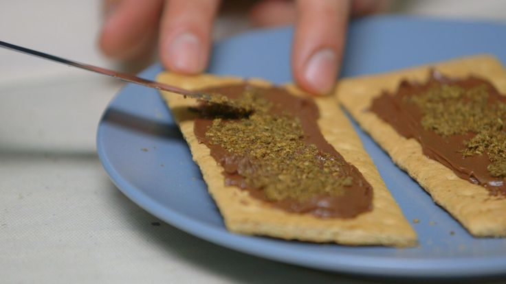 Abdullah walks us through the steps to make this really tasty edible that only requires a little pot, a toaster oven, some graham crackers, a bit of hazelnut spread, and about 25 minutes of your day.