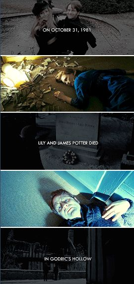 """R.I.P. James and Lily Potter - """"The last enemy that shall be destroyed is death."""""""