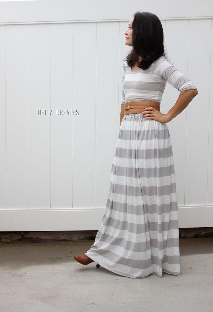 Black jersey maxi dress – Sewing Projects | BurdaStyle.com