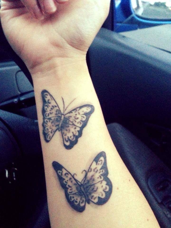 #Butterfly #Tattoos #Wrist | Butterfly Tattoos | Pinterest ...