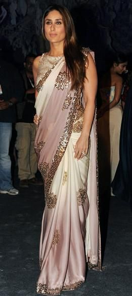 Yay or Nay? Kareena brought a perfect end to the night in the gorgeous Manish Malhotra Saree