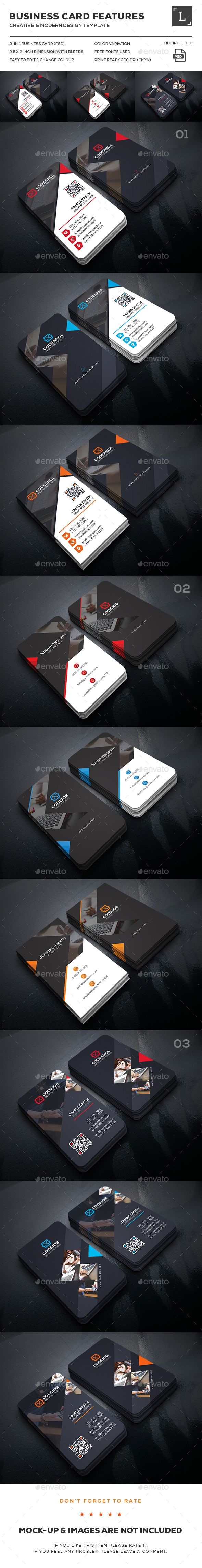 Business Card Bundle Templates PSD. Download here: http://graphicriver.net/item/business-card-bundle/16082119?ref=ksioks