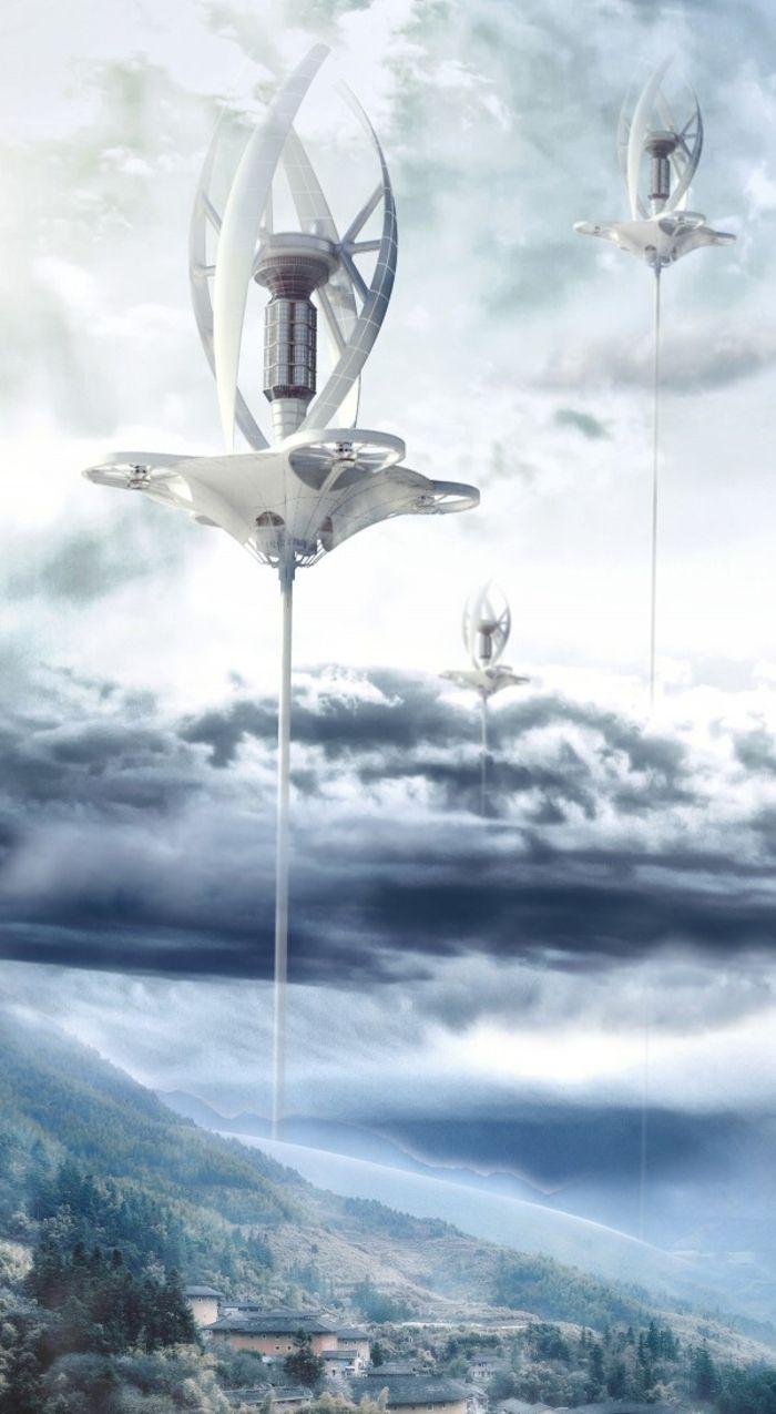 Effiziente Energieumwandlung – Kann man den Wind einfangen? – /architektur/energ…