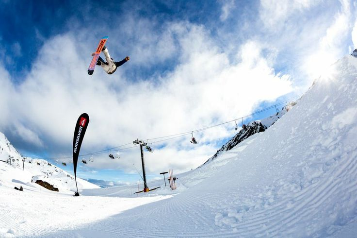 The Quiksilver Slopestyle took place at The Remarkables on the final day of Festival! #snowboard #winterstartshere #Queenstown #NewZealand