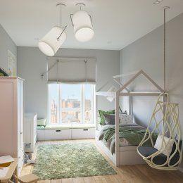 Студия LESH | Комната для ребенка похожая на сказочный лес