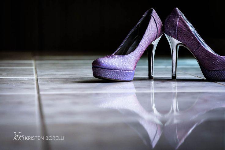 Purple Sparkly Wedding Shoes (Trillium Trails Raglan Ontario, Kristen Borelli Photography, Vancouver Island Wedding Photographer, Prince George Wedding Photographer, Nanaimo Wedding Photography, Victoria Wedding Photographer, Prince George Wedding Photography, Clarington Wedding Photographer)