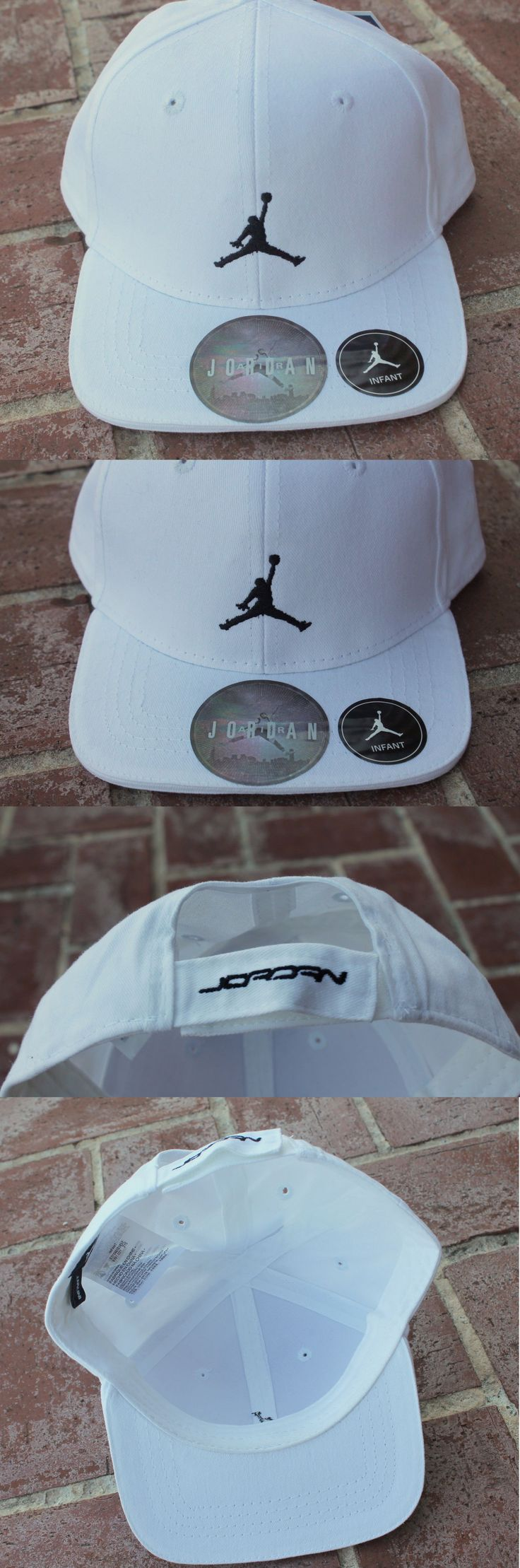 Michael Jordan Baby Clothing: New Nike Air Michael Jordan Infant Baby Boy Girl White Baseball Cap 12-18-24 M BUY IT NOW ONLY: $16.95