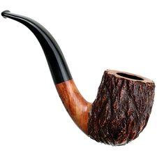 Randy Wiley Tobacco Pipes: Old Oak Bent Billiard (44)
