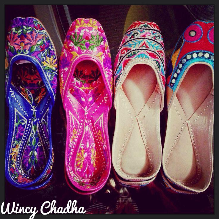 Punjabi juttis-favorites  #shoeobsessed #wincysshoes