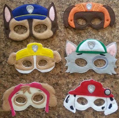 Paw Patrol Mask Set                                                                                                                                                                                 Más