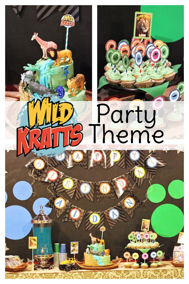 35 best wild kratts party images on pinterest birthday party
