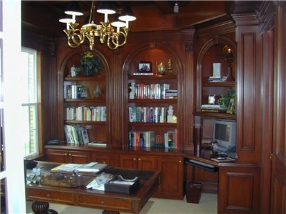 21 best Home Office Library images on Pinterest Bookcases