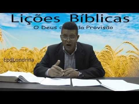A Provisão de Deus em Tempos Difíceis – AD Londrina - EBDWeb
