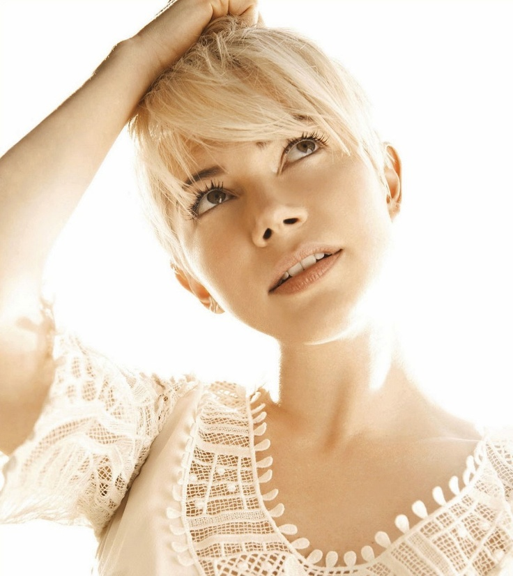 Michelle Williams: Michele Williams Faces, Girls Crushes, Blondes Pixie, Style, Shorts Hair Dos, Icons, Michelle Williams, Beautiful People, Actresses