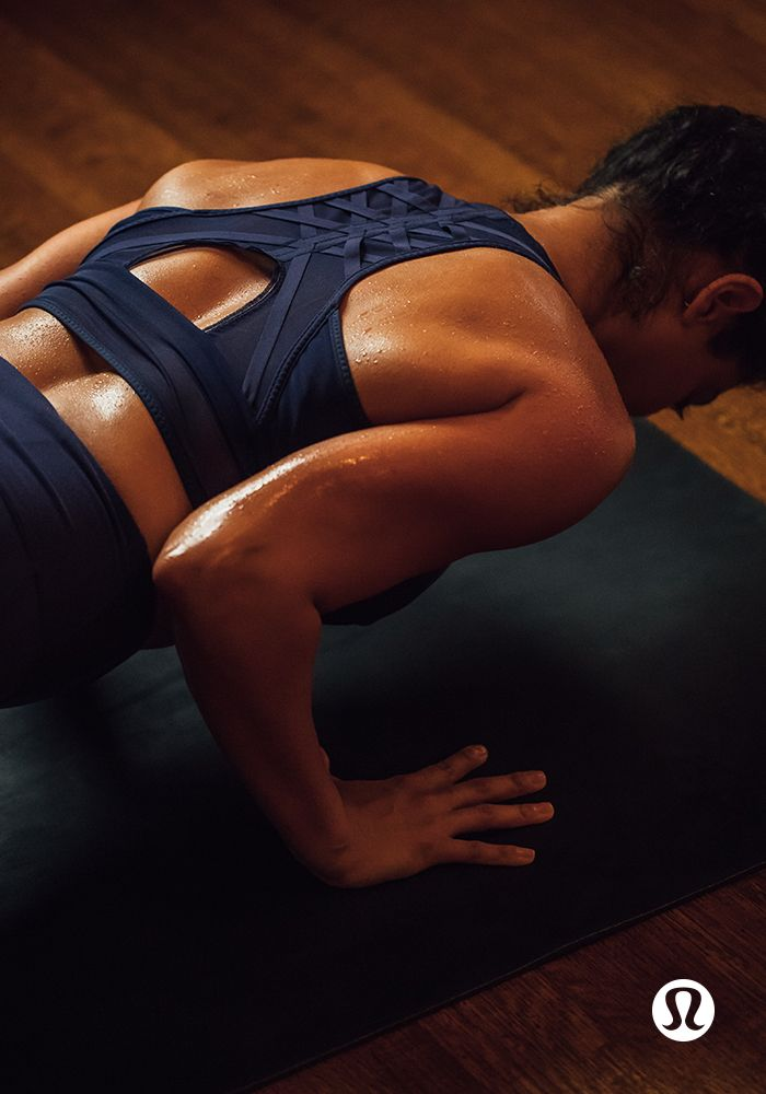Essential Rhythm Bra: Soak in every sweat-drenched moment in gear that breathes.