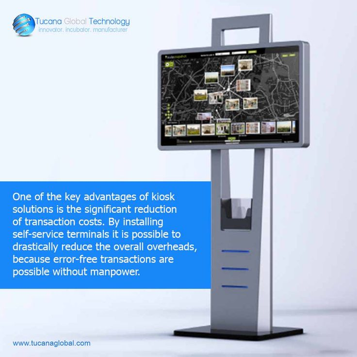 One of the key advantages of #kiosk solutions is the significant #reduction of #transaction #costs. By installing #self-#service terminals it is possible to #drastically reduce the #overall #overheads, because #error-#free #transactions are possible without manpower. #TucanaGlobalTechnology #Manufacturer #HongKong