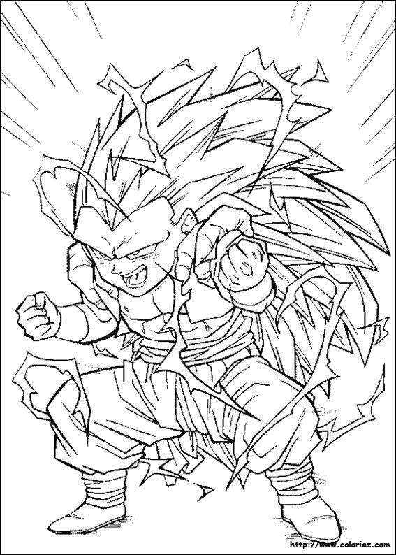 25 Coloriage Dragon Ball Z Sangoku Ssj3 Meilleur De Dragon Ball Art Dragon Sketch Anime Drawings Sketches