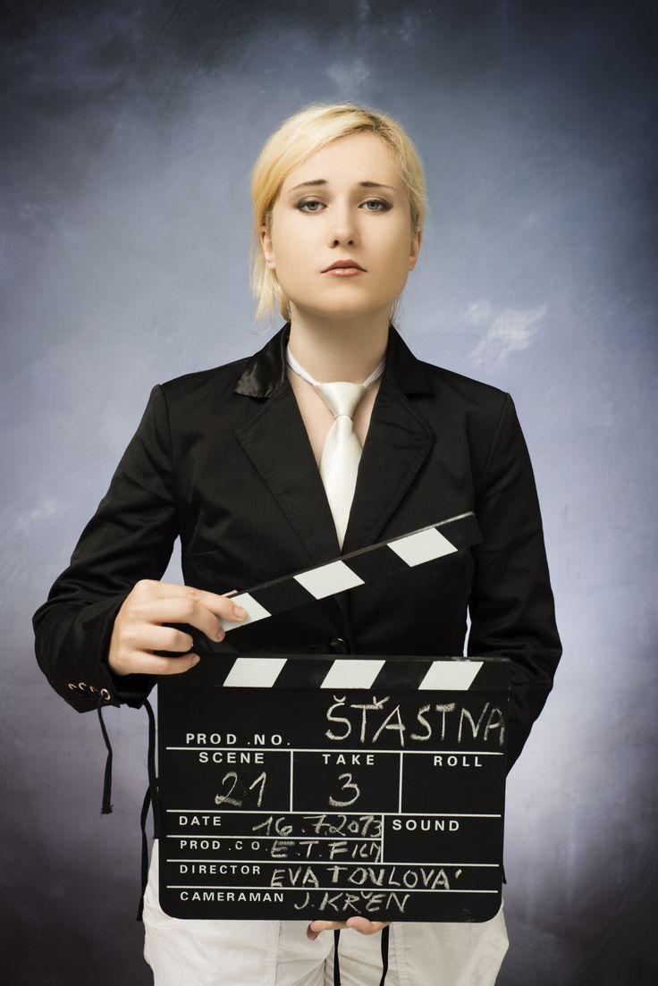 Foto z natáčení  - režisérka Eva Toulová
