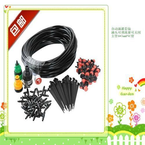 25m Diy 30 Drips Irrigation System Plant Automatic Self Watering Garden Hose Arrosage Automatique Micro Drip  Watering System