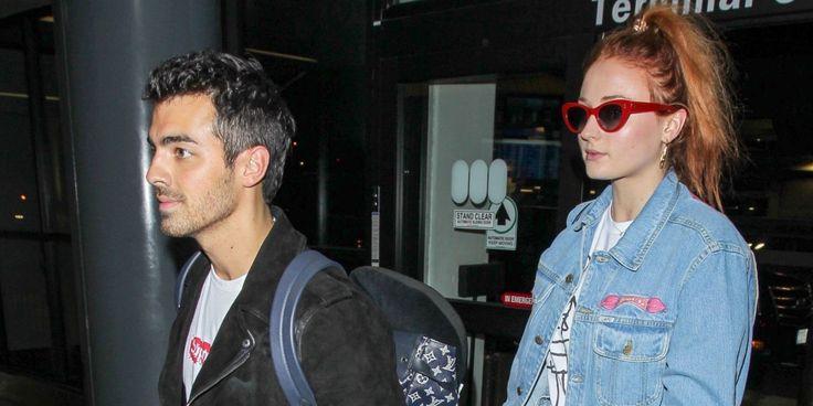 Sophie Turner Just Wore Merch from Boyfriend Joe Jonas' Band  http://www.elle.com/fashion/celebrity-style/news/a46774/sophie-turner-joe-jonas-denim-jacket/