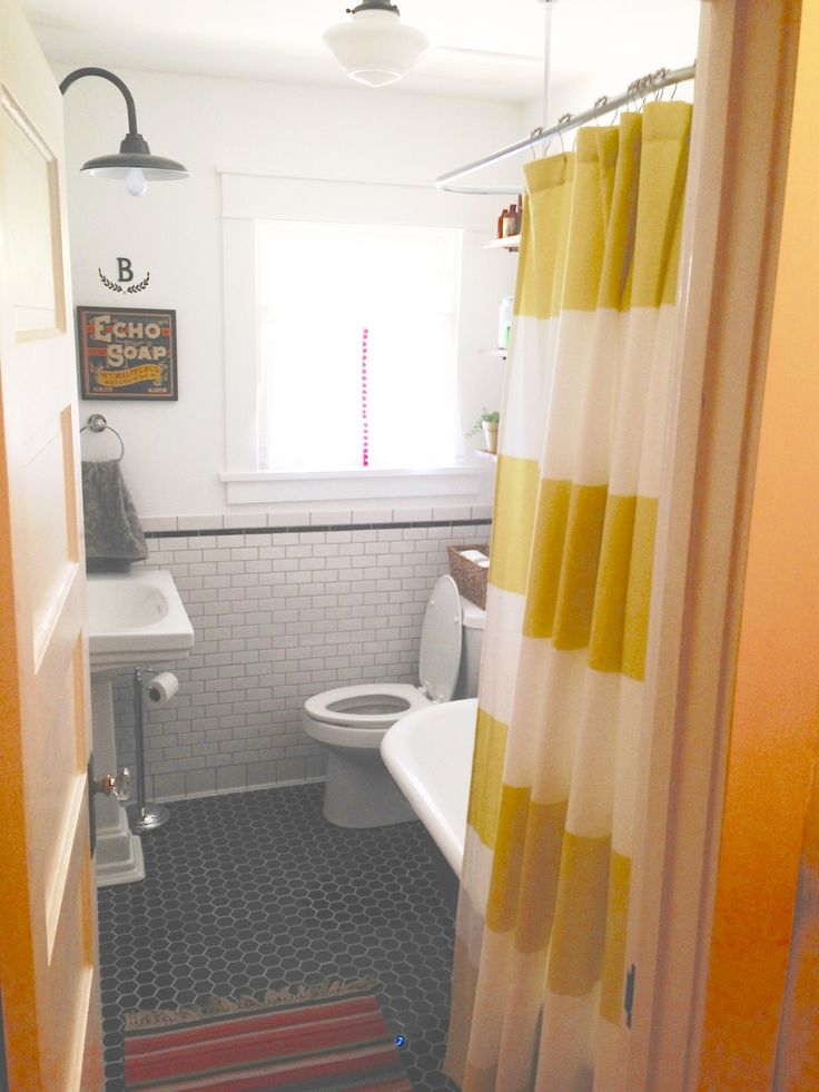 Before & After: A 100 Year Old Bathroom Gets a Makeover — Renovation Project