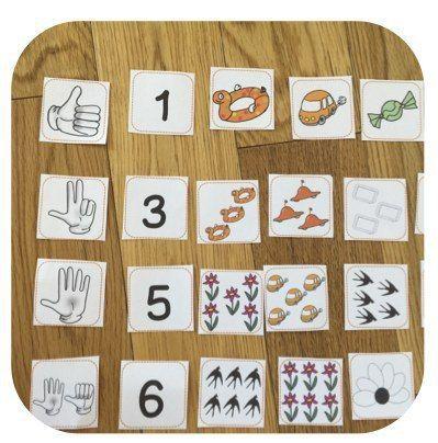 Les ateliers et jeux en numération de 0 à 30. Et voilà un super outil pour travailler la numération dans tous les sens à partir de petites étiquettes et et d'une frise numérique . ( ou plûtot 2 fr...
