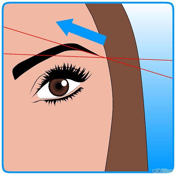 depilarse las cejas con hilo - wikiHow