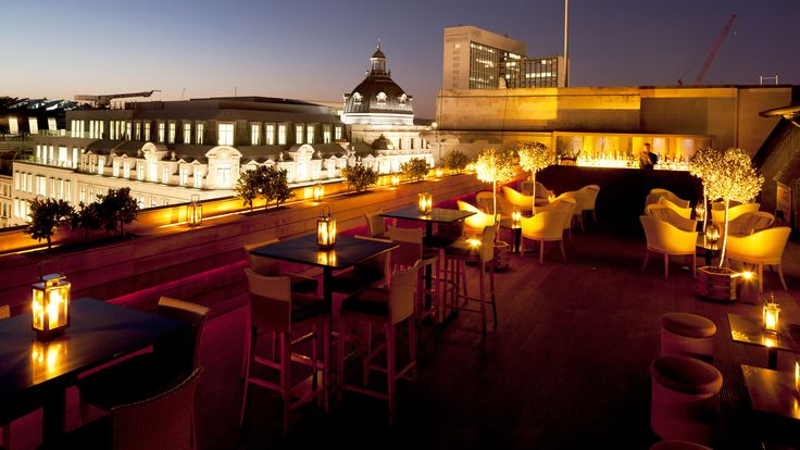 The After Work Roof: Aqua Kyoto, London